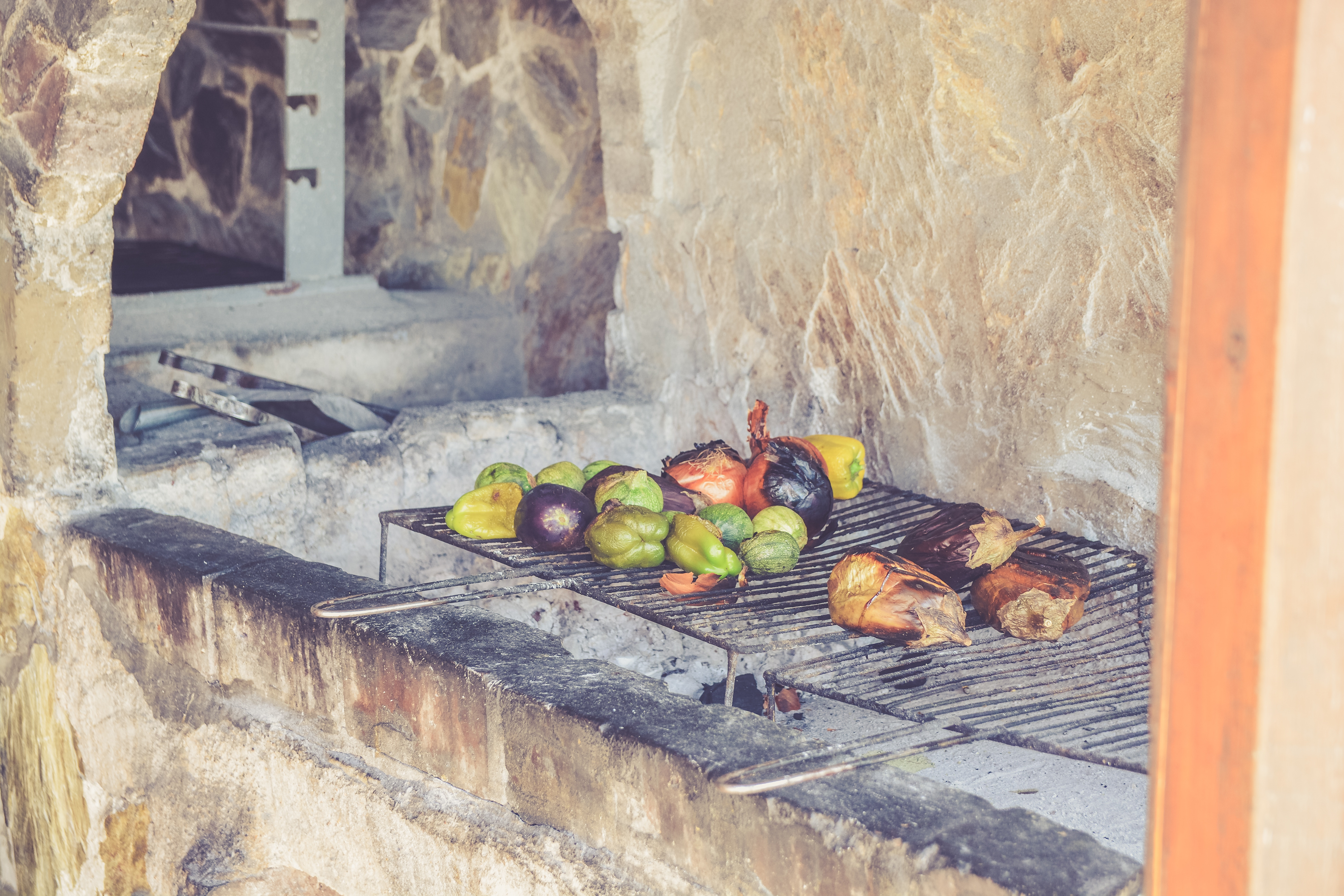 Image of grilling food