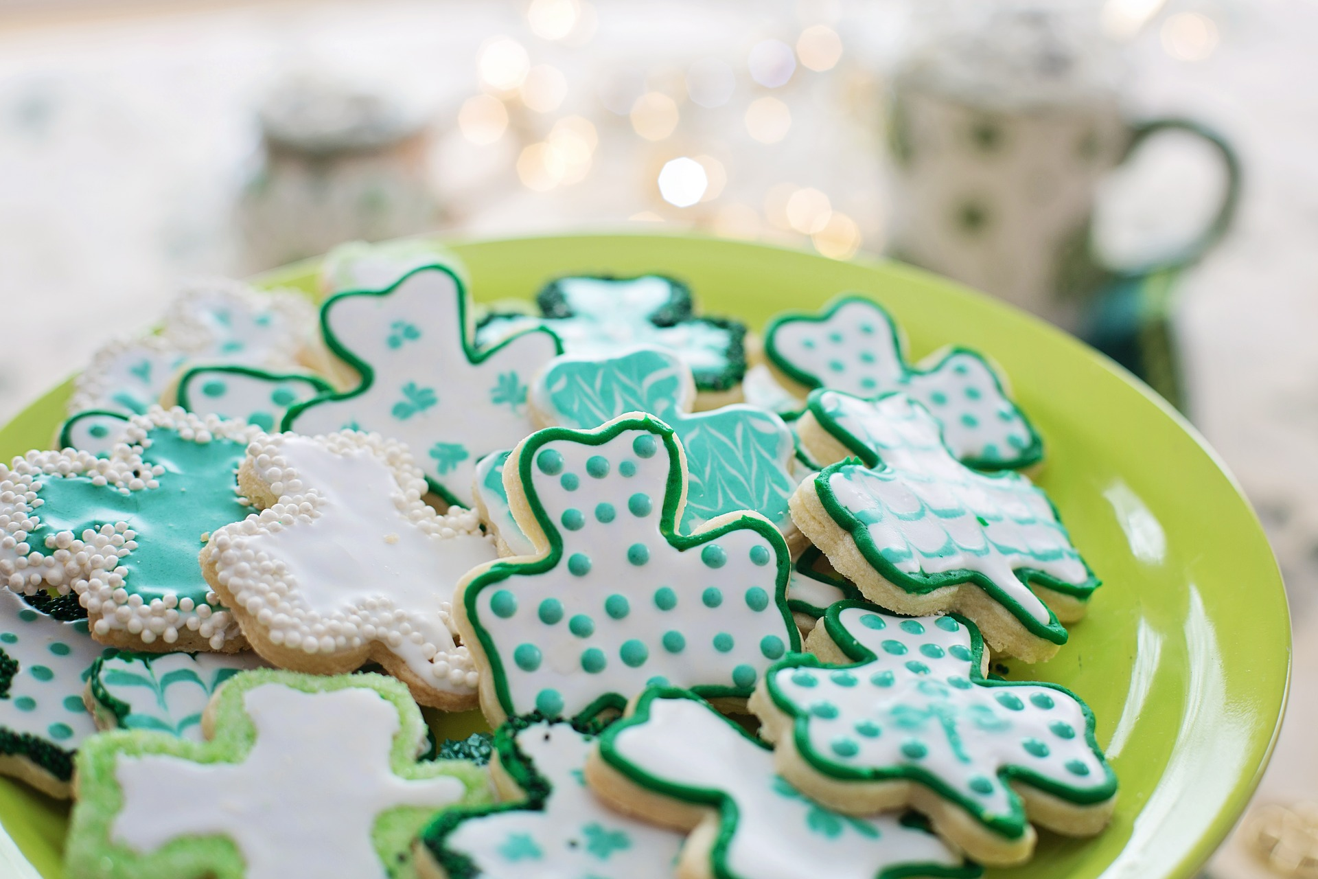 Image of sweet treats for St. Patrick's Day