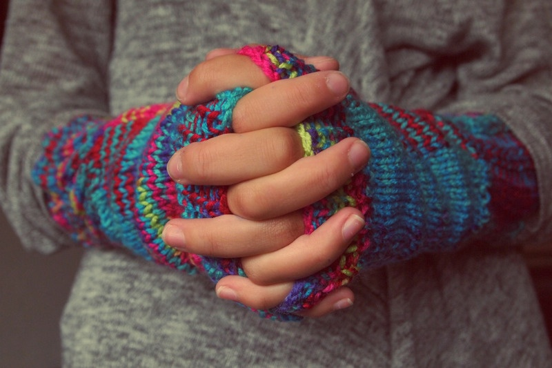 Image of Hands Wearing Gloves